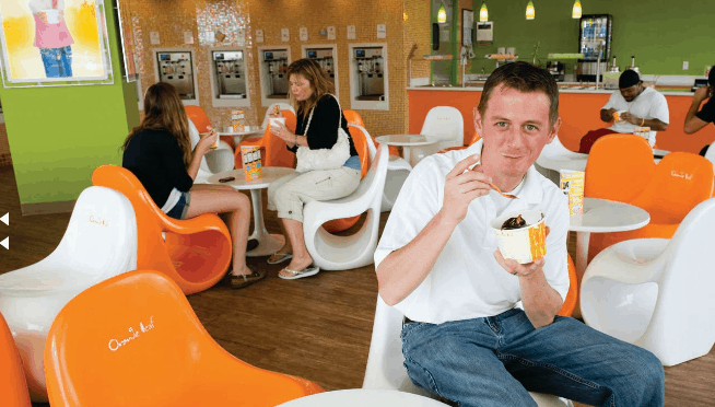 Orange Leaf Opens To Sweet Success