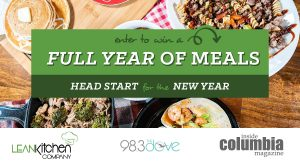 Full year of meals giveaway from Lean Kitchen